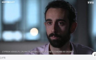 Interview de Cyprien Verseux : Un an en Antarctique