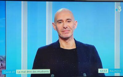"""Reportage France 3 """" Le mal-être des étudiants face au confinement"""""""